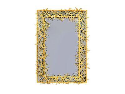 """Robert Goossens, '""""Coral"""" mirror ', 1969"""
