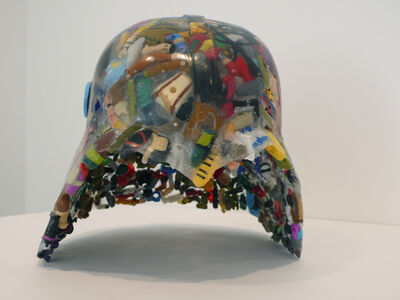 Michael Rakowitz, 'Fedayeen Helmet (Strike the Empire Back series)', 2009