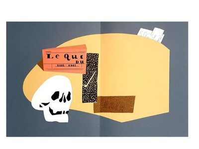 Eduardo Arroyo, 'Eduardo Arroyo - Homage to Braque - Original Lithograph', 1984