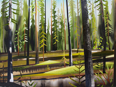 Gavin Lynch, 'Forest near Teslin', 2017