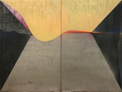 Omar Barquet, 'Two Suns (Diptych)', 2017
