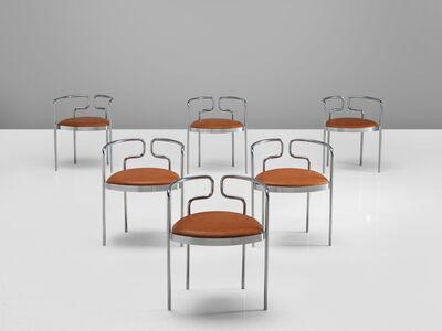 Henning Larsen, 'Set of Tubular Dining Chairs Model '9230'', 1960s