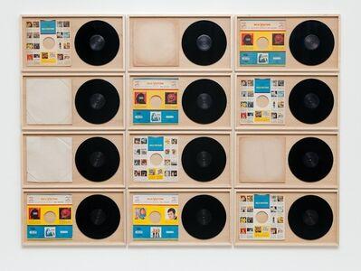 Chiara Banfi, 'RCA - da série Discos Vazios', 2013 / 2014