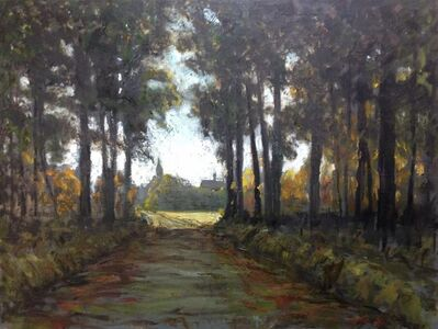 Albert Hadjiganev, 'A la sortie de la forêt', 2018