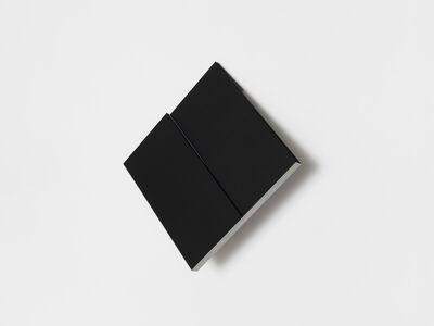 Fernanda Fragateiro, 'overlap (black and blue)', 2018
