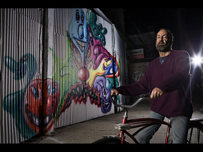 Søren Solkær, 'Kenny Scharf (USA), Brooklyn', 2012