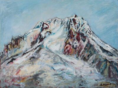 Kim Osgood, 'Mt. Hood From Silcox', 2017