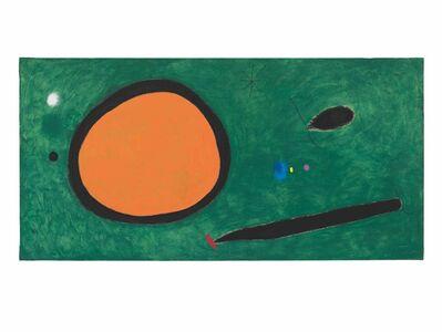 Joan Miró, 'Le Vol d'oiseau par le clair de lune', 1967