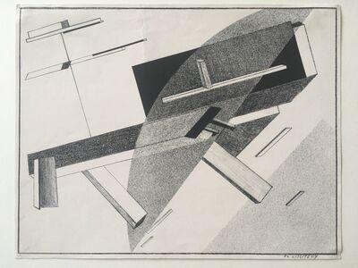 El Lissitzky, 'Proun B 2 - Lithographie 2 B', 1919-1921