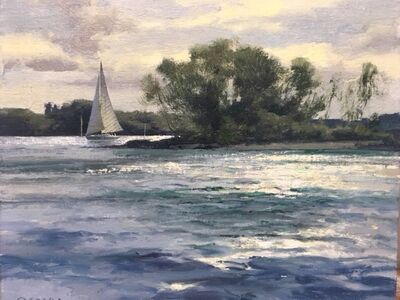 Donald W. Demers, 'A Silver Day', 2016-2018