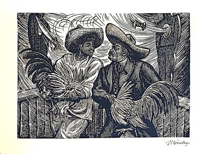 Leopoldo Mendez, 'el gallero', 1930-1940