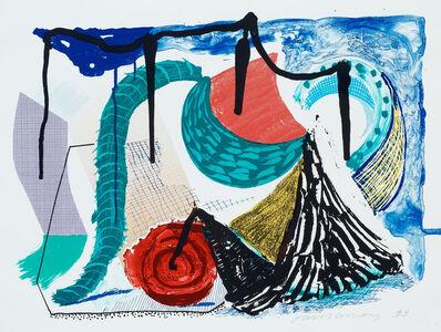 David Hockney, 'Catherine's Walk', 1993