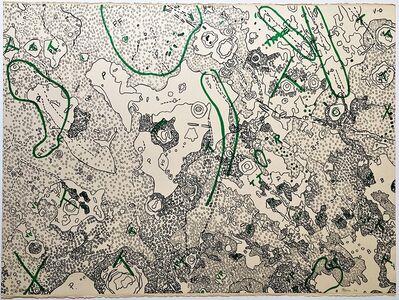 Nancy Graves, 'Julius Caesar Quadrangle of the Moon, from Geologic Maps of Lunar Orbiter and Apollo Landing Sites ', 1972