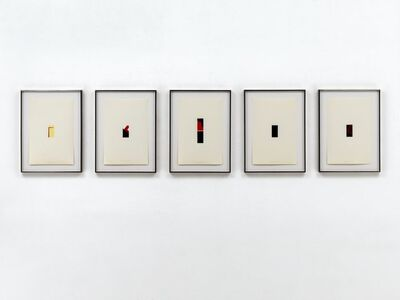 Blinky Palermo, 'Fünf Miniaturen', 1972