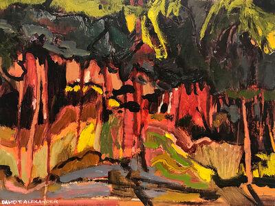 David Alexander, 'Under and Behind', 2019