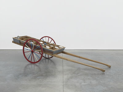 Theaster Gates, 'Rickshaw for Fossilized Soul Wares', 2012