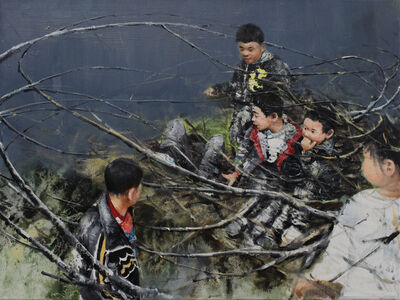 Li Tianbing, 'Branches game #3', 2020