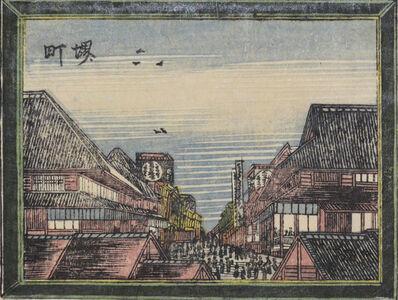 Katsushika Hokusai, 'Sakaimachi', ca. 1802
