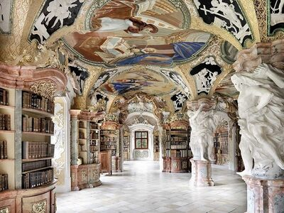 Massimo Listri, 'Metten Library, Germany | World Libraries', 2016
