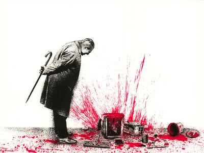 Mr. Brainwash, 'Glitch - Red', 2018