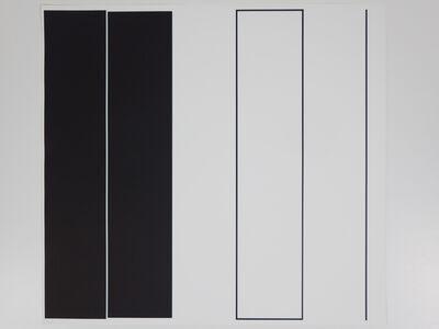 Aurelie Nemours, 'le vertical I', 1984