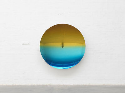 Anish Kapoor, 'Mirror (Spanish Gold to Mipa Blue 5)', 2018