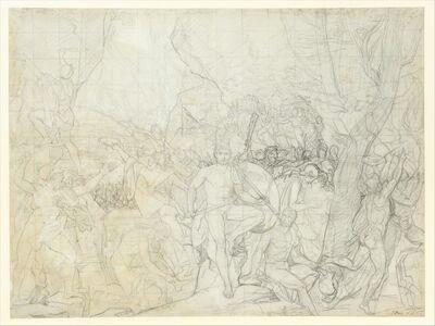 Jacques-Louis David, 'Leonidas at Thermopylae', ca. 1814