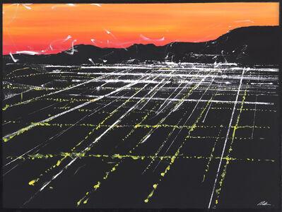 Pete Kasprzak, 'La Brea Sunset Aerial', 2019