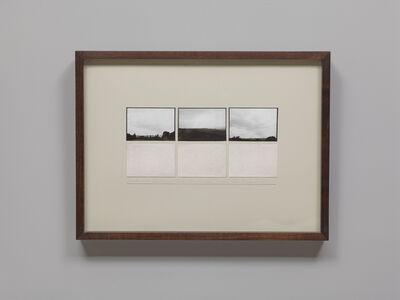 Michelle Stuart, 'Earth and Landform Study, Overton Hill, Dragon Hill, England', 1980-1981