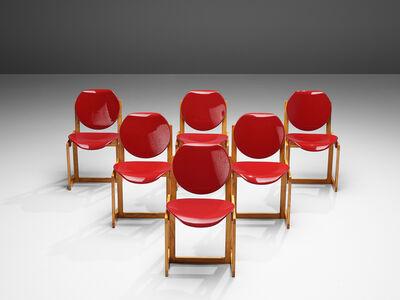 Giuseppe Davanzo, 'Giuseppe Davanzo Set of Six Dining Chairs 'Serena'', 1960s