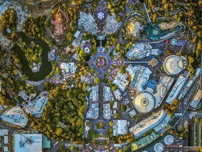 Jeffrey Milstein, 'Disneyland 01', 2017