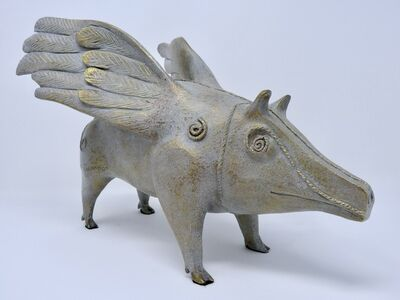 Leonora Carrington, 'If  pigs could fly ', 2011