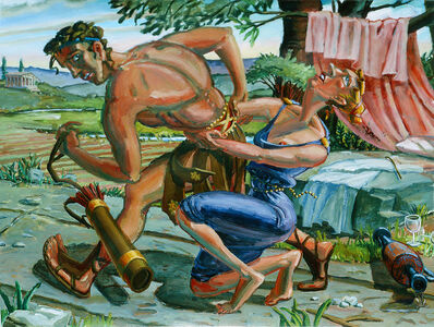 M. Louise Stanley, 'Venus and Adonis', 1989