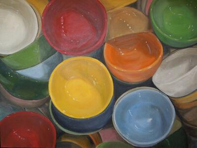 "Eve Plumb, '""Fishs Eddy Bowls Yellow Jewel""', 2016"