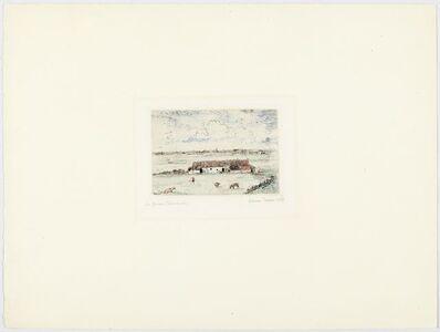 James Ensor, 'La ferme flamande', 1888