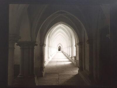 Bogdan Konopka, 'la Chartreuse de Neuville-sous-Montreuil, le grand cloître 28 XI 2003', 2003