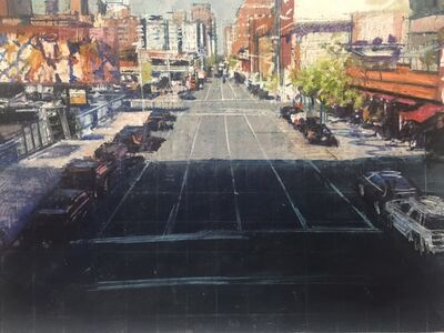 Bernardo Siciliano, 'Street Scene: From the Highline', 2015