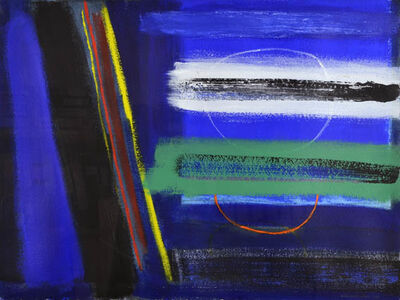 Wilhelmina Barns-Graham, 'Night Walk Porthmeor No. 2   ', 1996