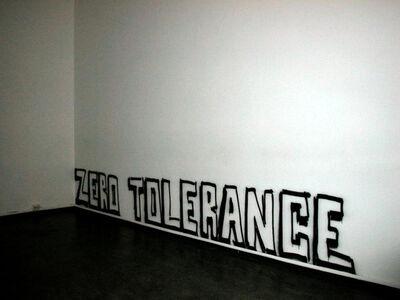Matias Faldbakken, 'Zero Tolerance', 2005