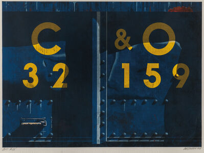 Robert Cottingham, 'C&O', 1989