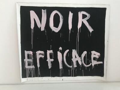 Georges Autard, 'NOIR EFFICACE', 2014-2016