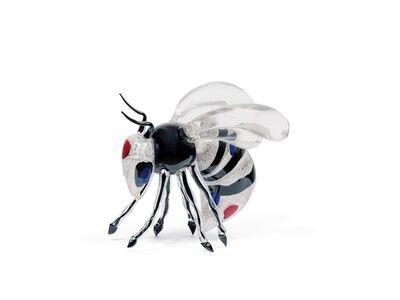 Rosemarie Benedikt, 'Silver Bee', 2017