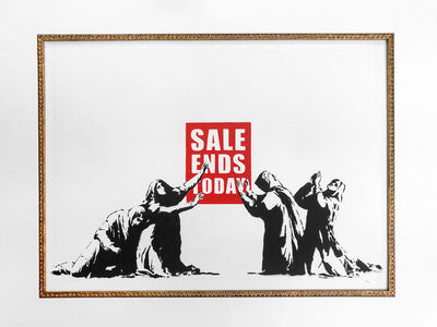 Banksy, 'Sale Ends Today (LA Edition- unsigned)', 2006