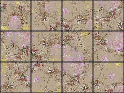 Denis Jutzeler, 'Composition fleur 3', 2018