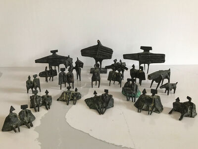 Lynn Chadwick, 'Group of Twenty Miniature Figures', 1976