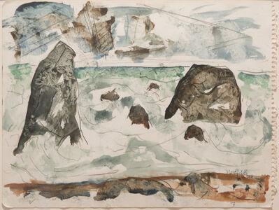 B. J. O. Nordfeldt, 'North California Coast Near Mendocino #1       ', 1952