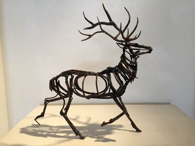 Wendy Klemperer, 'Trotting Elk '