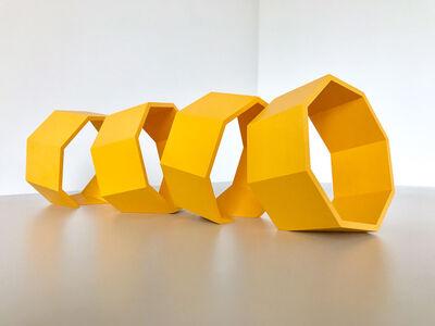 Thomas Lendvai, 'Untitled (Yellow Octagons)', 2018