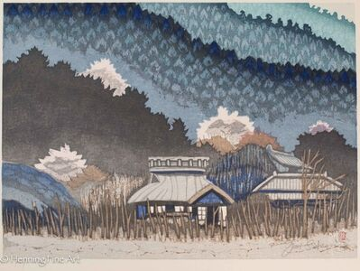 Junichiro Sekino, 'Japanese Mountain Village', ca. 1975