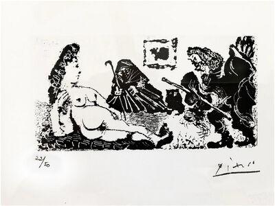 Pablo Picasso, 'Vieux beau salutant très bas une pupille de la Célestine', 1967-1968
